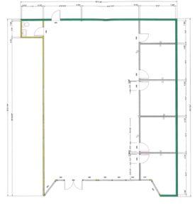 233 W. 23rd Floor Plan